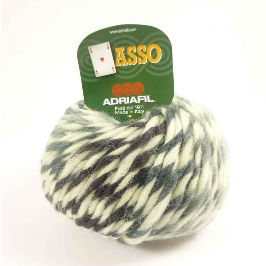 Adriafil Asso (or Ace) Fancy Knitting Yarn - Taigo 64