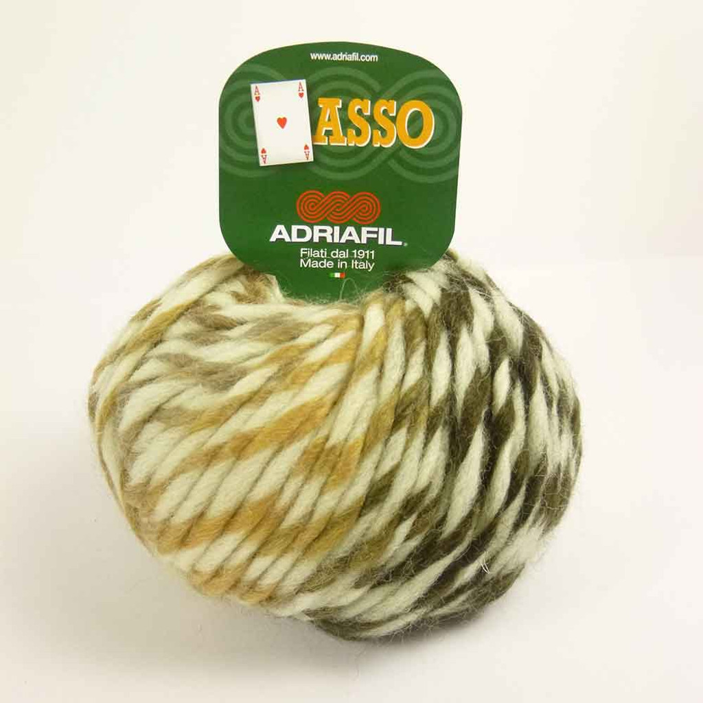 Adriafil Asso (or Ace) Fancy Knitting Yarn - Tundra 60