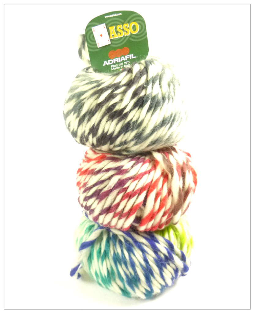 Adriafil Asso (or Ace) Fancy Knitting Yarn - Main Image 2