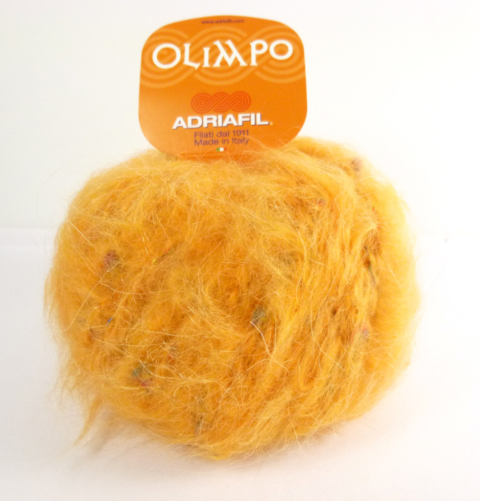 Adriafil Olimpo Yarn - Orange Juice 42 (Ball)