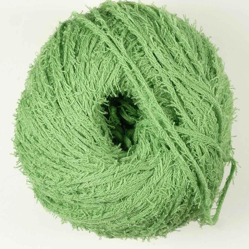 Adriafil Petalo Knitting Yarn 100% Cotton | 15 Grass