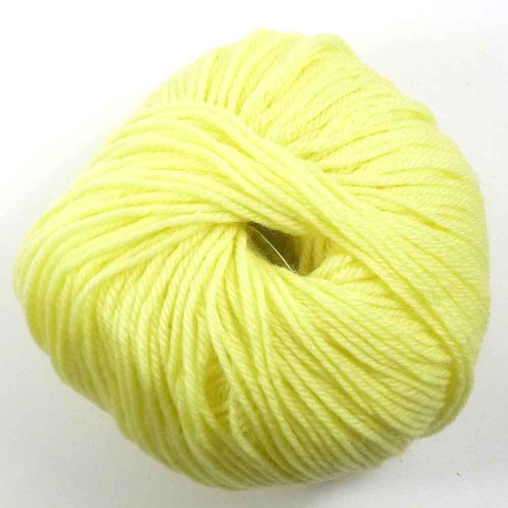 Adriafil Regina DK 100% Merino Wool Yarn, 50g | Various Colours - 05 Lemon