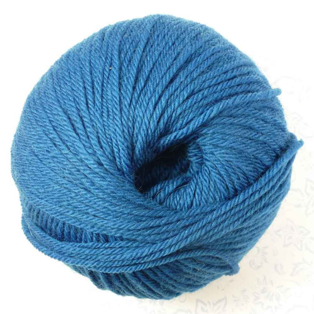 Adriafil Regina DK 100% Merino Wool Yarn, 50g   Various Colours - 39 Gentian