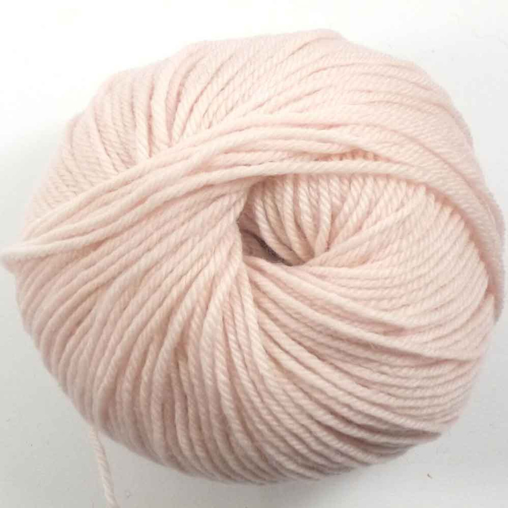 Adriafil Regina DK 100% Merino Wool Yarn, 50g | Various Colours - 43 Powder Pink