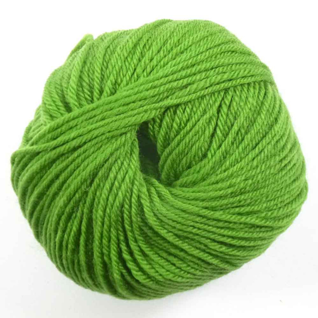 Adriafil Regina DK 100% Merino Wool Yarn, 50g   Various Colours - 89 Lime Green