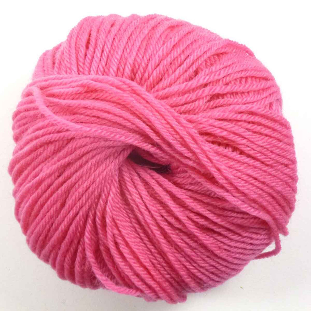 Adriafil Regina DK 100% Merino Wool Yarn, 50g   Various Colours - 91 Fuchsia