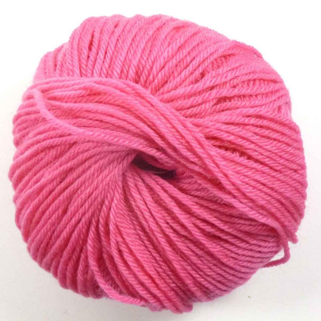 Adriafil Regina DK 100% Merino Wool Yarn, 50g | Various Colours - 91 Fuchsia
