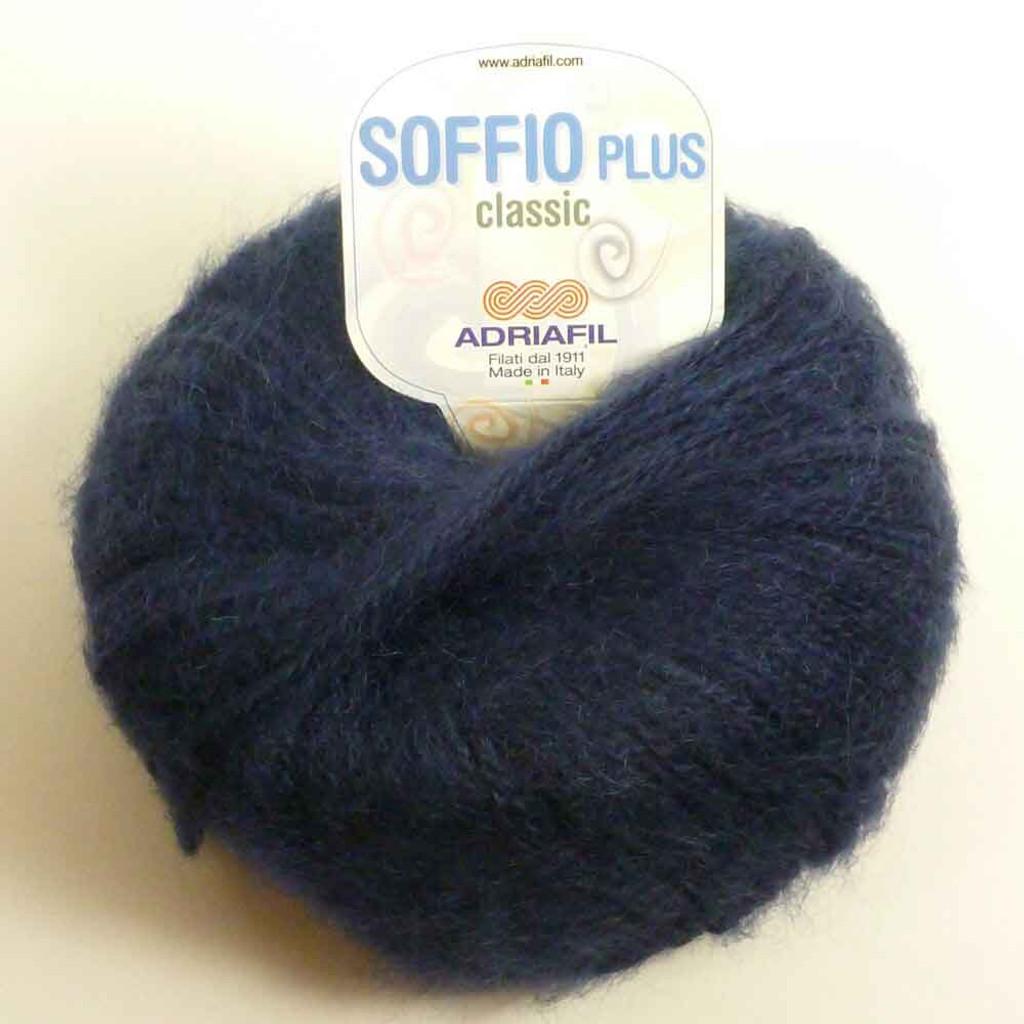 Adriafil Soffio Plus Knitting Yarn   49 Navy