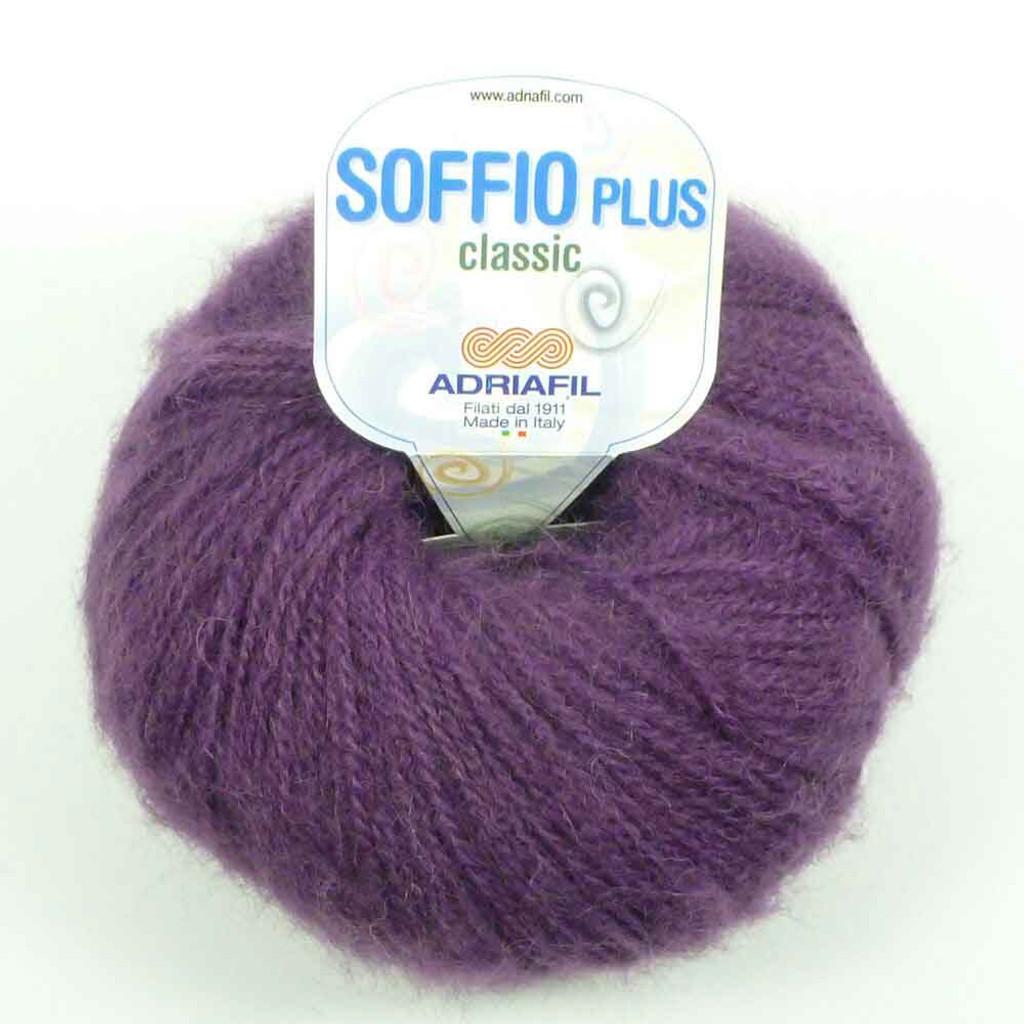 Adriafil Soffio Plus Knitting Yarn   53 Purple