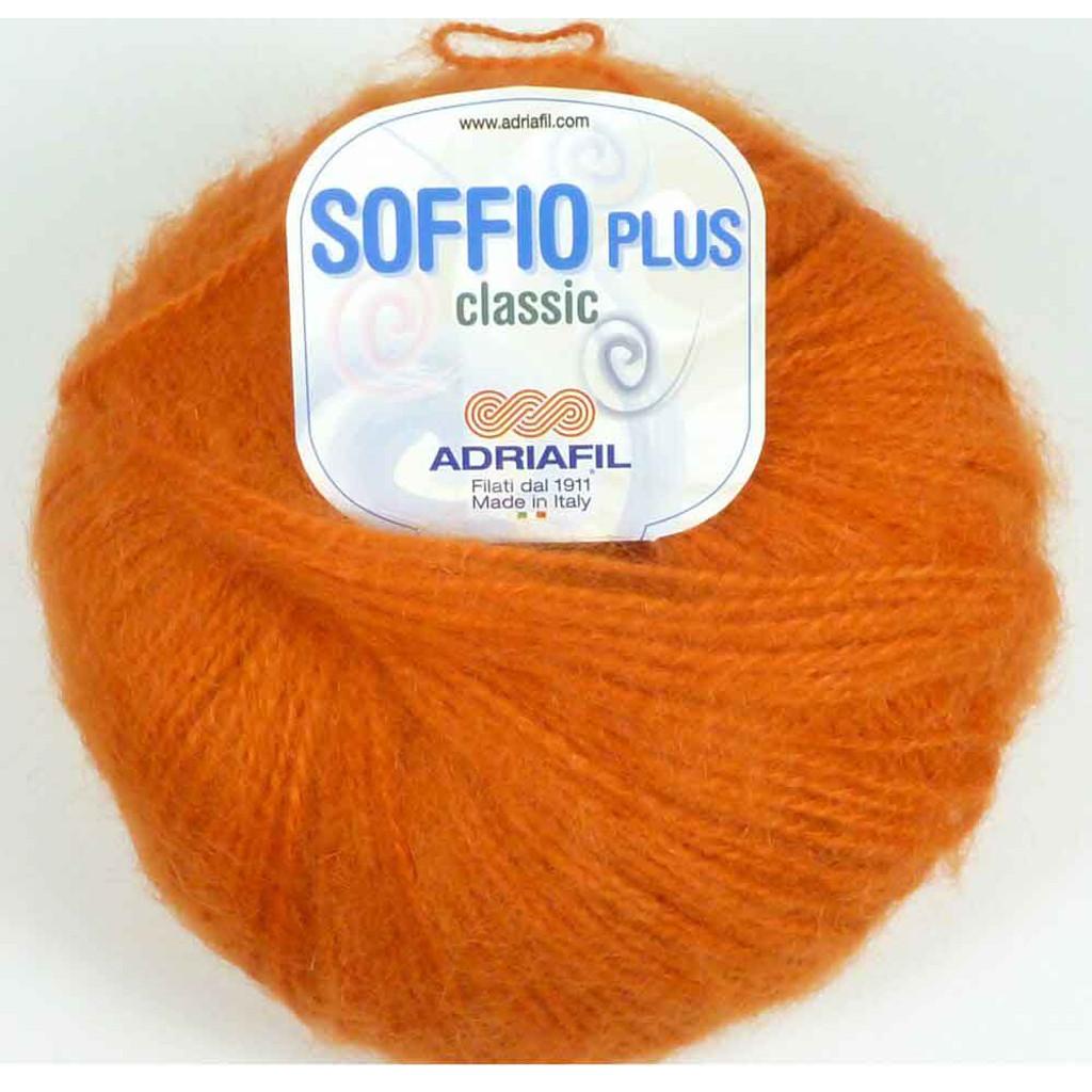 Adriafil Soffio Plus Knitting Yarn   54 Orange
