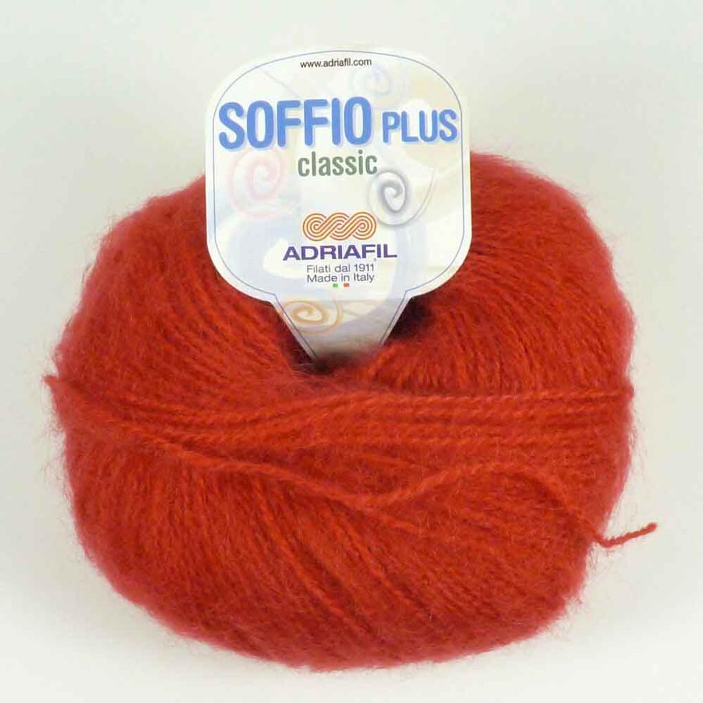 Adriafil Soffio Plus Knitting Yarn   55 Red