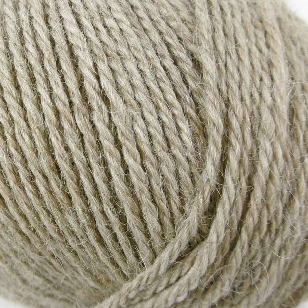 Adriafil Sierra Andina Alpaca Knitting Yarn | 33 Light Brown