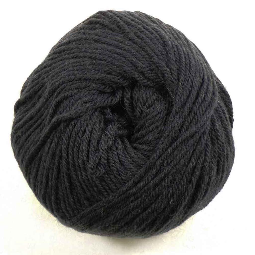 Rowan Pure Wool DK, 50g Balls | 004 Black