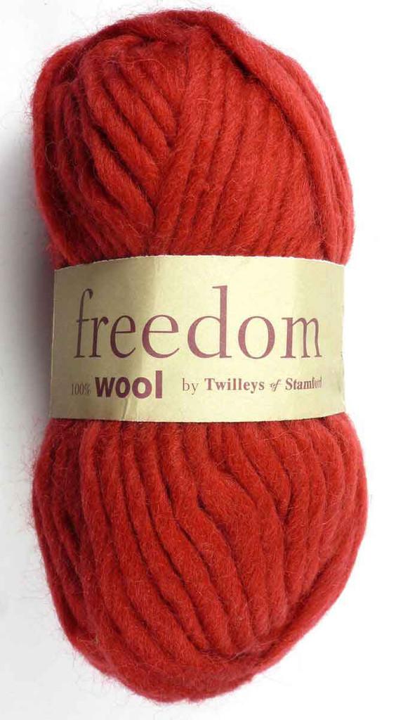 Twilleys Freedom Wool | 0403 Deep Red
