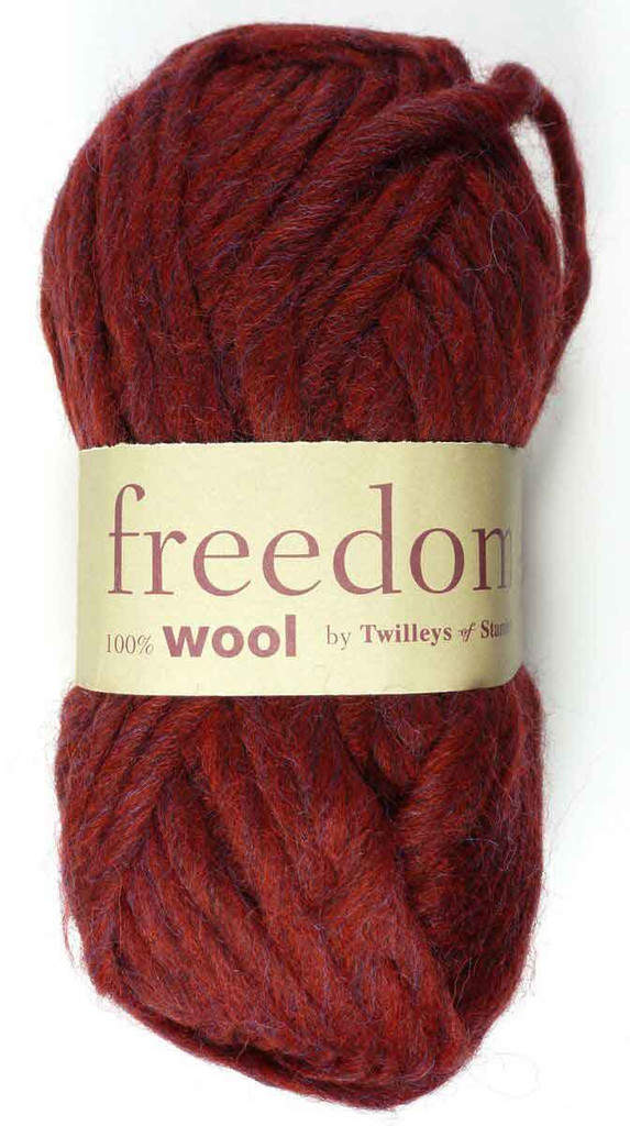 Twilleys Freedom Wool | 0412 Claret
