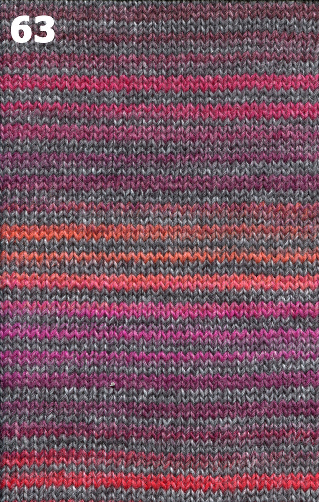 Adriafil Zebrino Stripey Aran Knitting Yarn | Various Shades