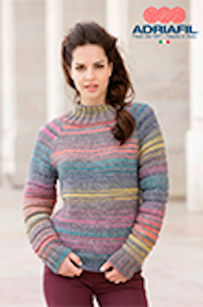 Minou Pattern - knitted in Zebrino