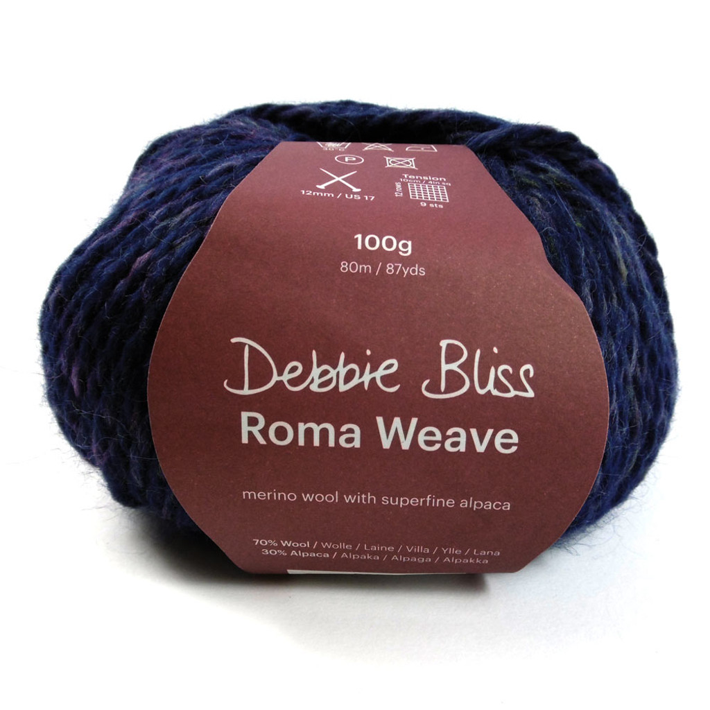 Debbie Bliss Roma Weave with ball band - Navy 53511