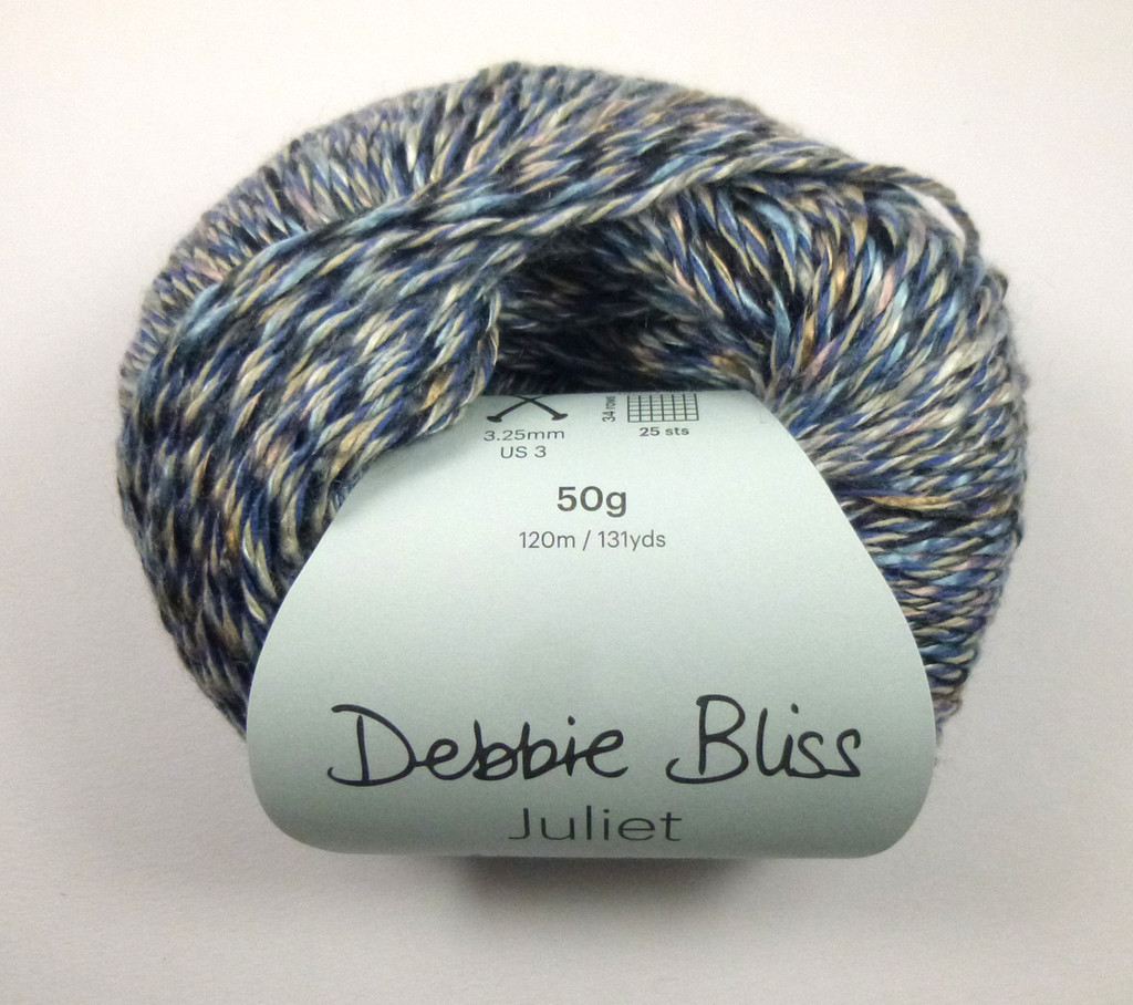 Debbie Bliss Juliet 4 Ply Yarn Knitting Yarn, 50g Balls | 04 Hyacinth Ball