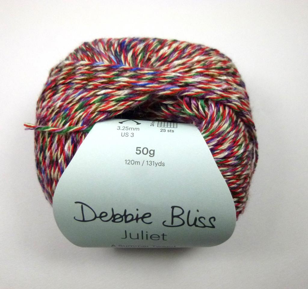 Debbie Bliss Juliet 4 Ply Yarn Knitting Yarn, 50g Balls | 09 RoseBall