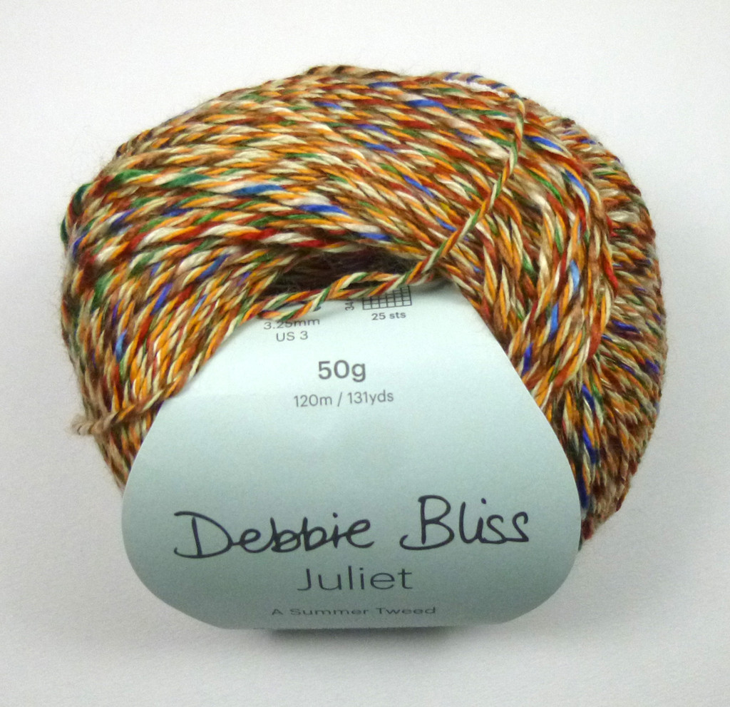 Debbie Bliss Juliet 4 Ply Yarn Knitting Yarn, 50g Balls | 10 Begonia Ball
