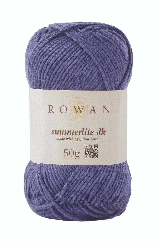 Rowan Summerlite DK Knitting Yarn, 50g Balls | 450 Indigo