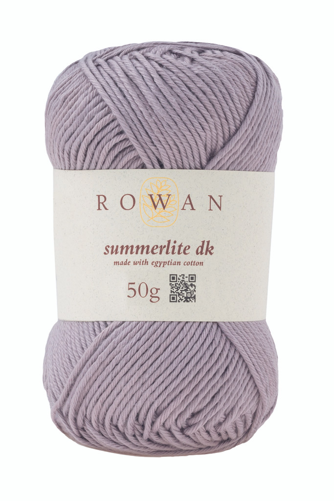 Rowan Summerlite DK Knitting Yarn, 50g Balls | 454 Mushroom