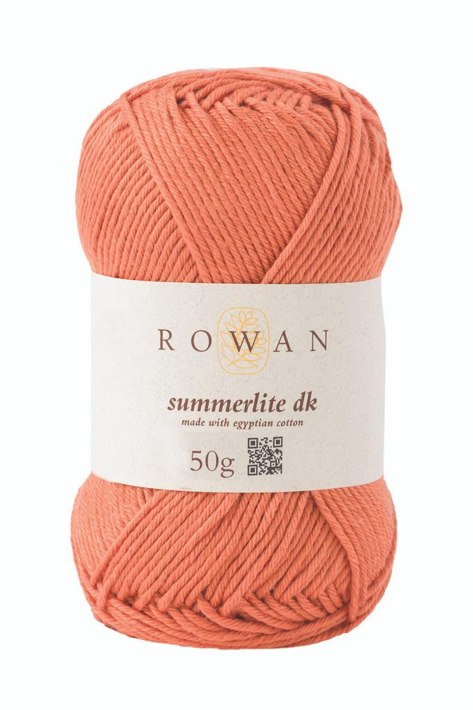 Rowan Summerlite DK Knitting Yarn, 50g Balls | 456 Cantaloupe