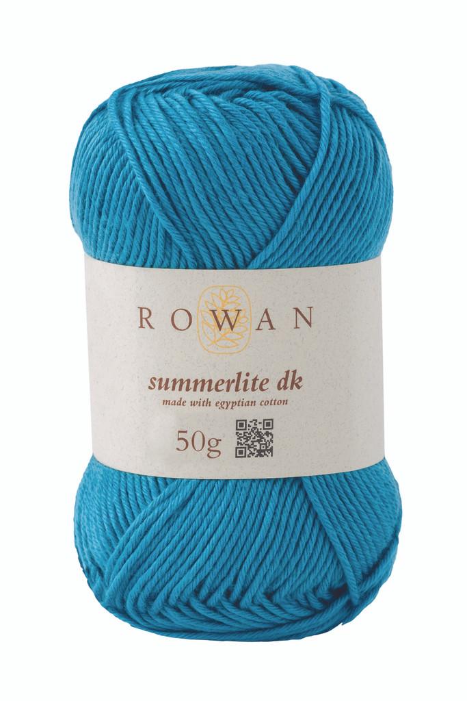 Rowan Summerlite DK Knitting Yarn, 50g Balls | 457 Lagoon