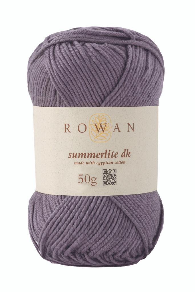 Rowan Summerlite DK Knitting Yarn, 50g Balls | 458 Steel
