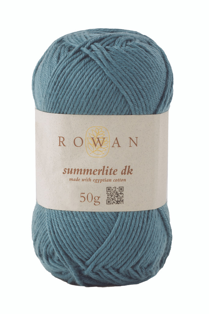 Rowan Summerlite DK Knitting Yarn, 50g Balls | 459 Ocean