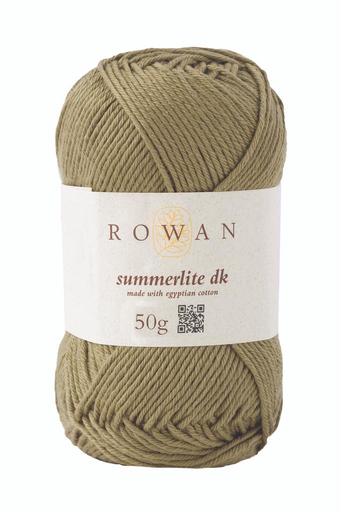 Rowan Summerlite DK Knitting Yarn, 50g Balls | 461 Khaki