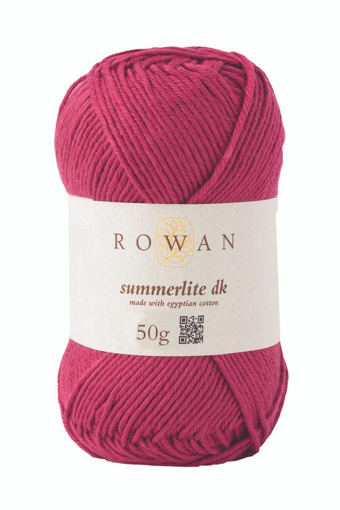 Rowan Summerlite DK Knitting Yarn, 50g Balls | 462 Rouge