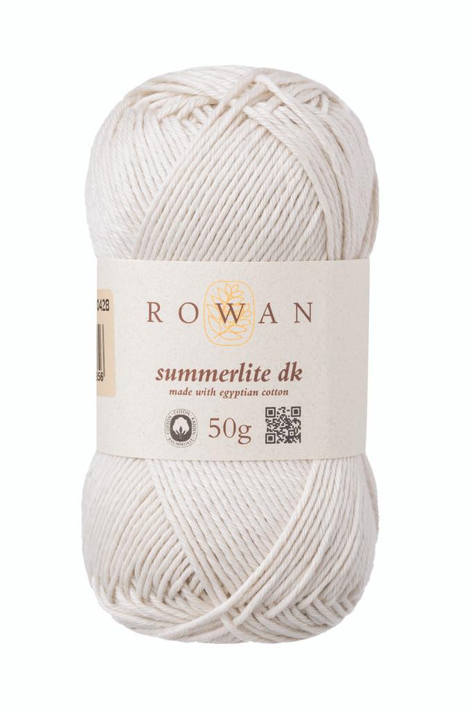 Rowan Summerlite DK Knitting Yarn, 50g Balls | 466 Seashell