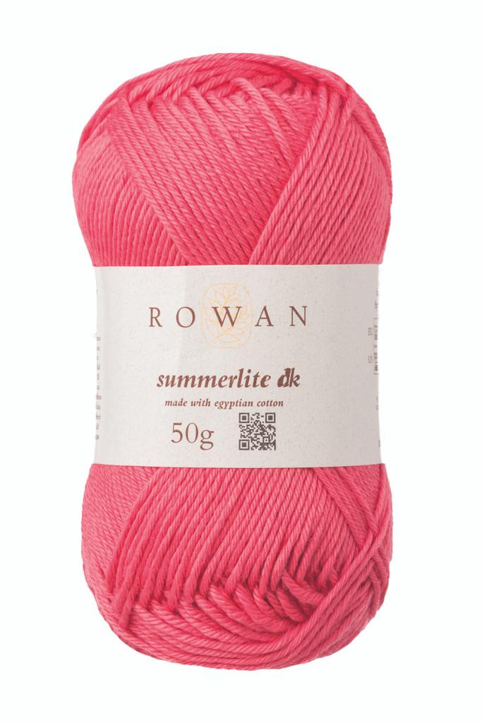 Rowan Summerlite DK Knitting Yarn, 50g Balls | 467 Blush