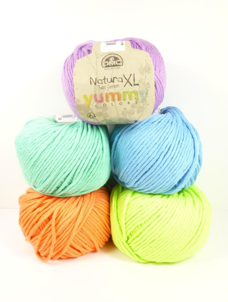 DMC Natura XL balls of yarn - Yummy