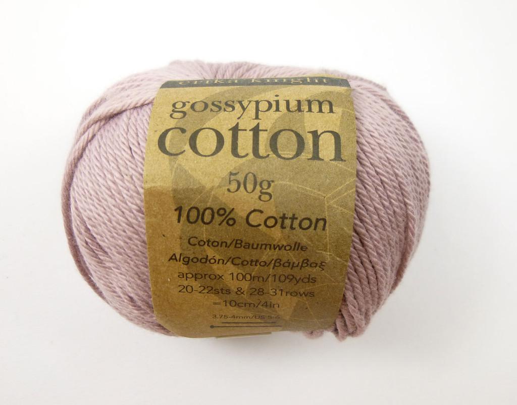 Erika Knight Gossypium Cotton DK Knitting Yarn - Shade 507 Pretty