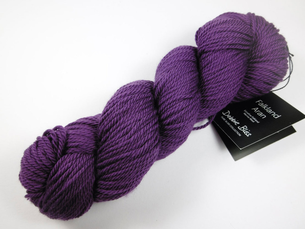 Debbie Bliss Falkland Aran - Purple