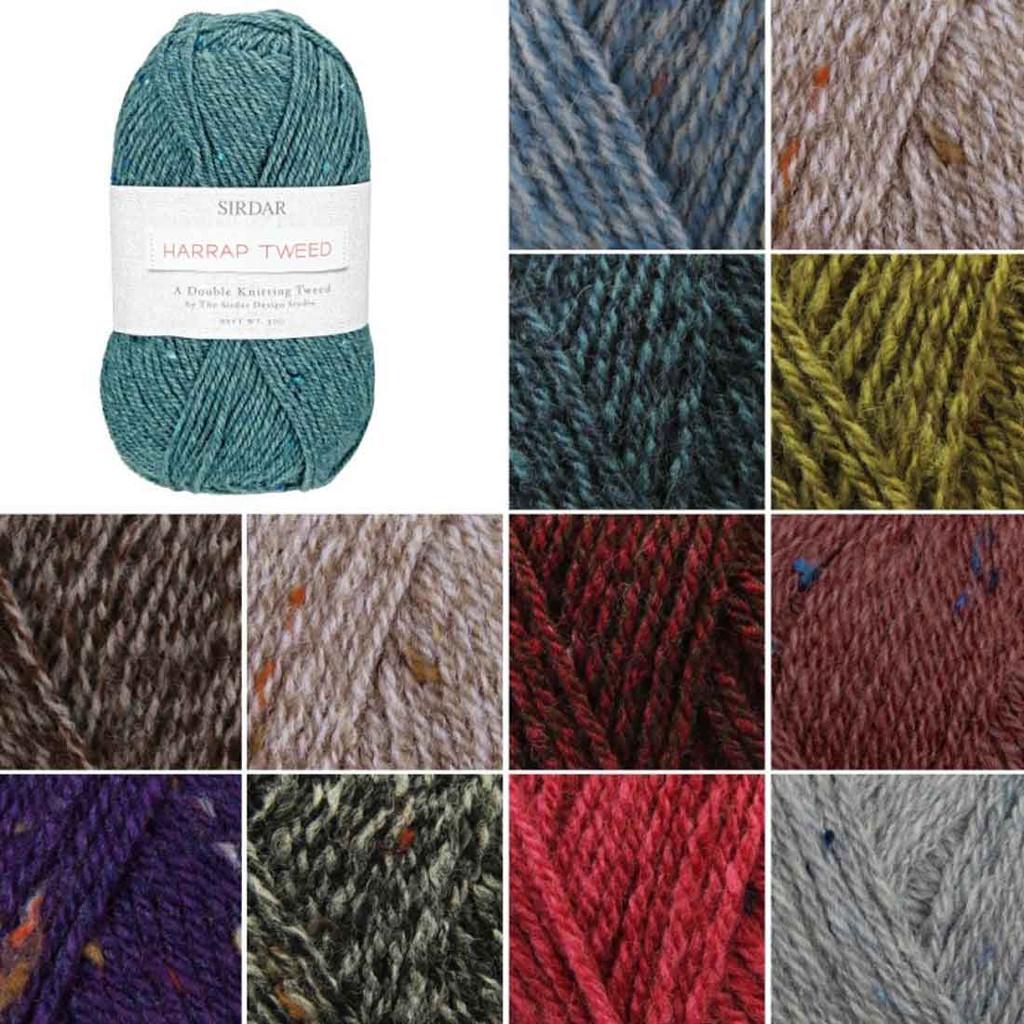 Sirdar Harrap Tweed DK Knitting Yarn | Various Colours - Main