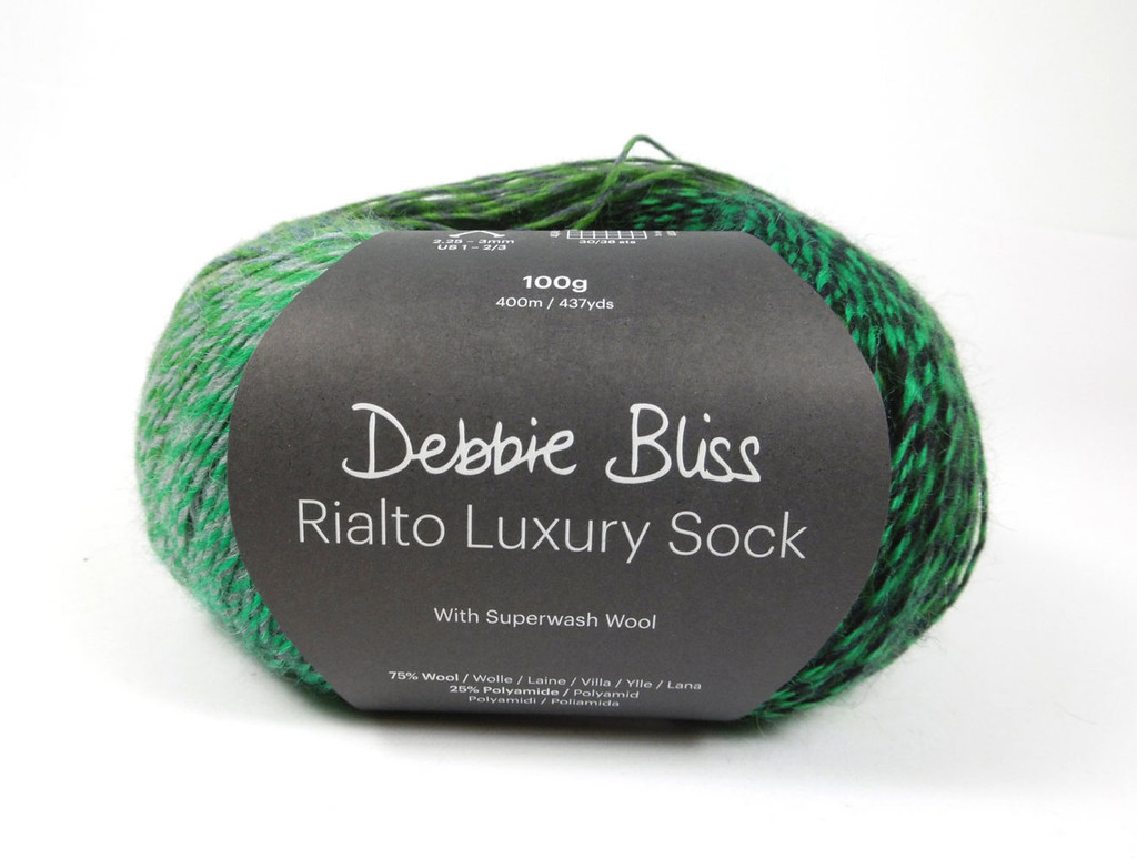 Debbie Bliss Luxury Sock Yarn, front picture of Benicassim 09