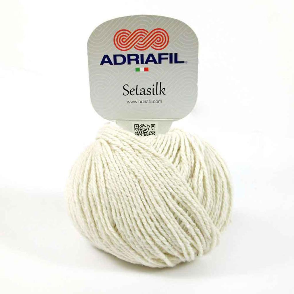 Setasilk DK Summer yarn | Adriafil  - 60 Cream