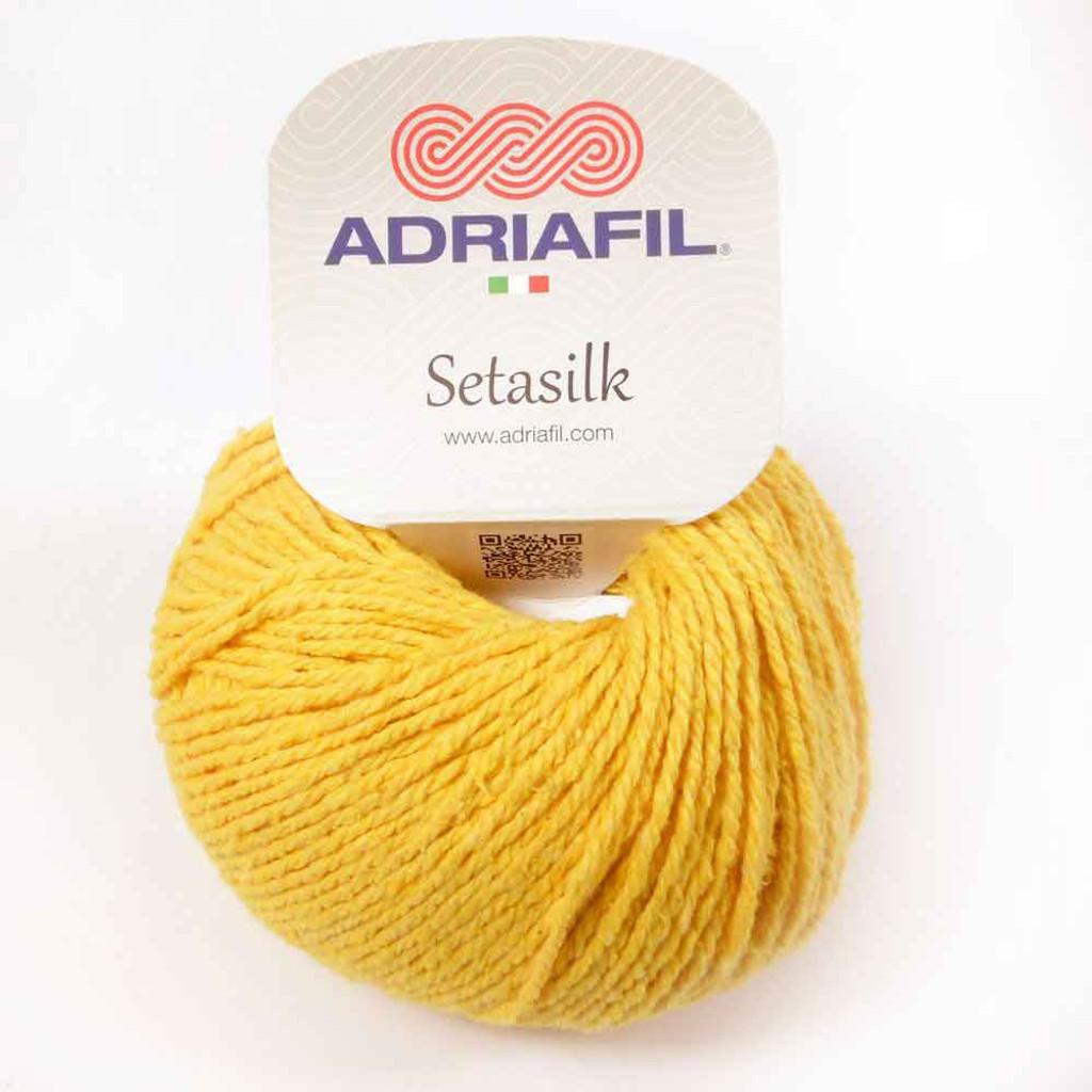 Setasilk DK Summer yarn | Adriafil  - 64 Sunshine