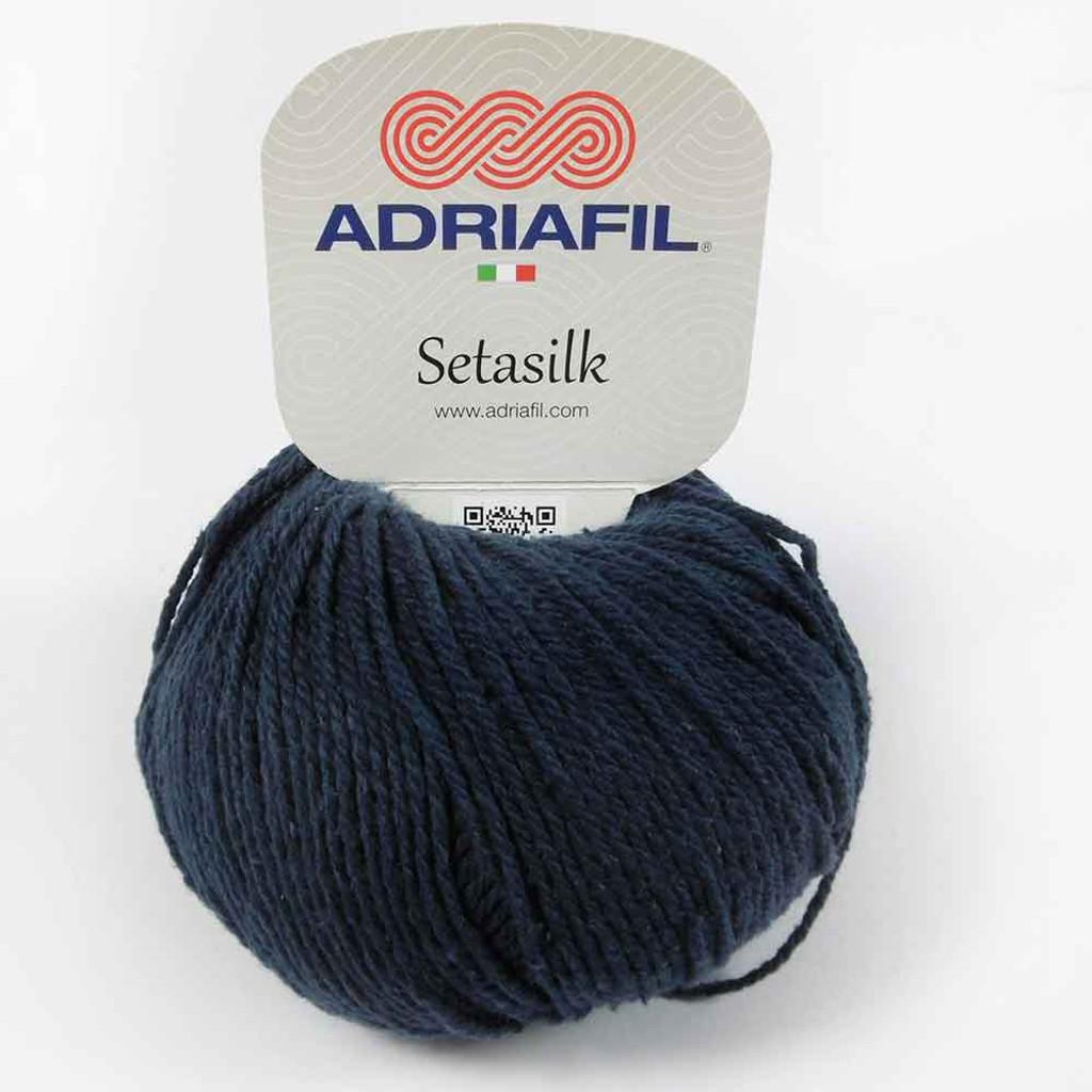 Setasilk DK Summer yarn | Adriafil - 69 Dark Blue