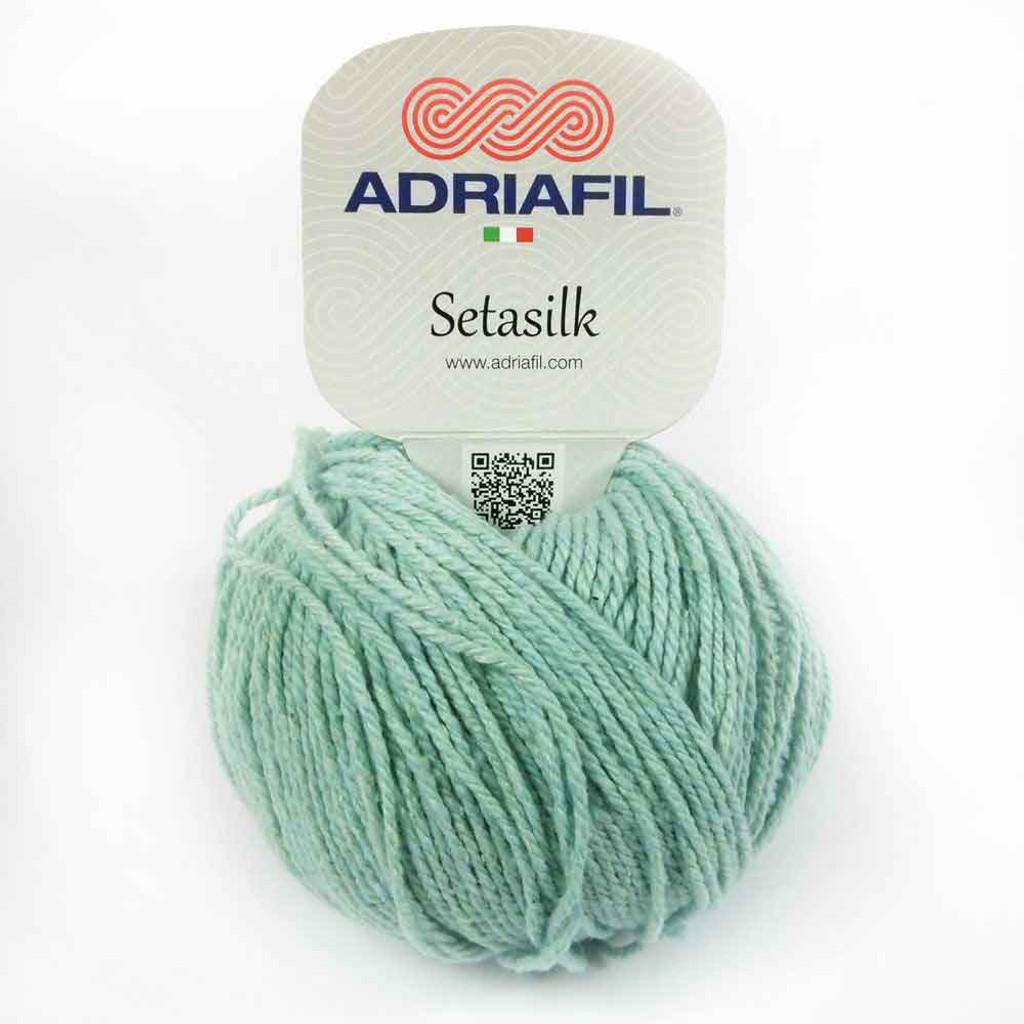 Setasilk DK Summer yarn | Adriafil  - 65 Sea Green