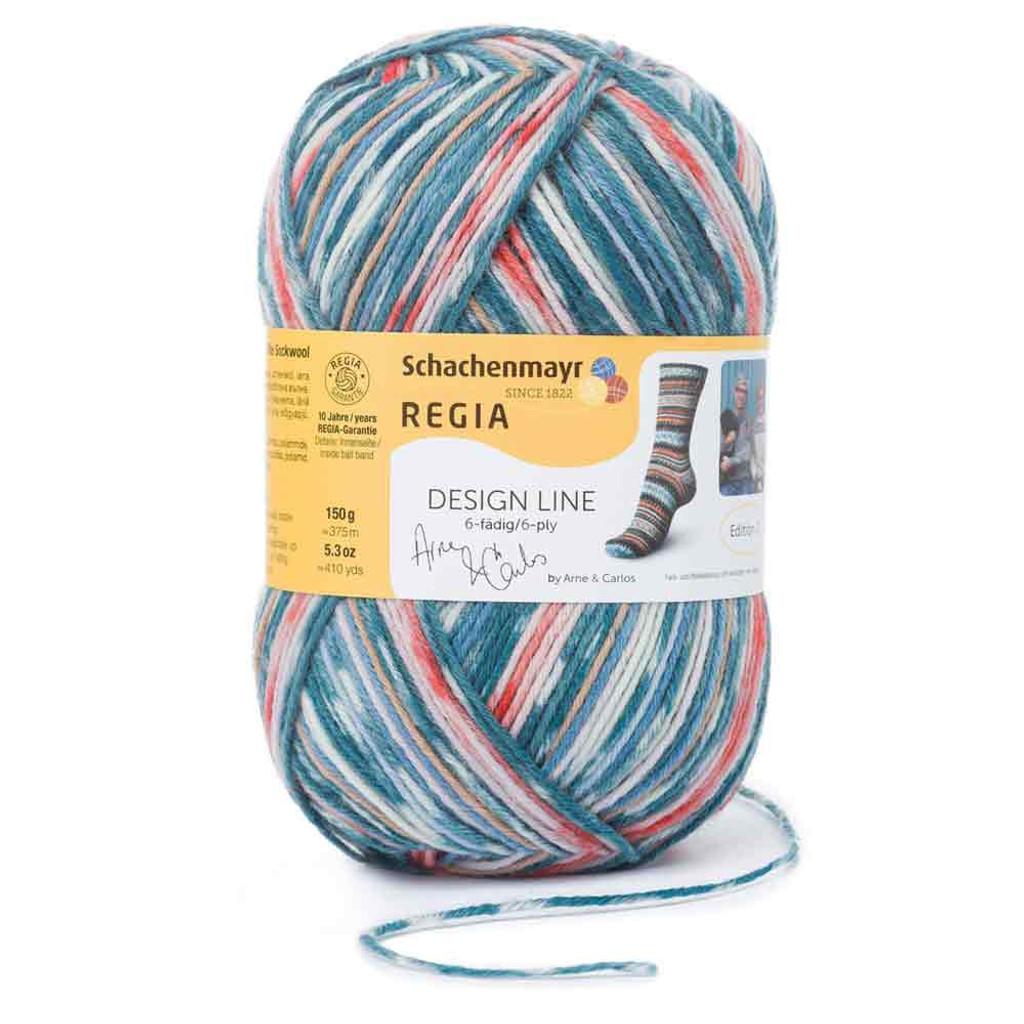 Regia Design Line 6 Ply by Arne & Carlos, 150g Balls - Shade 3657