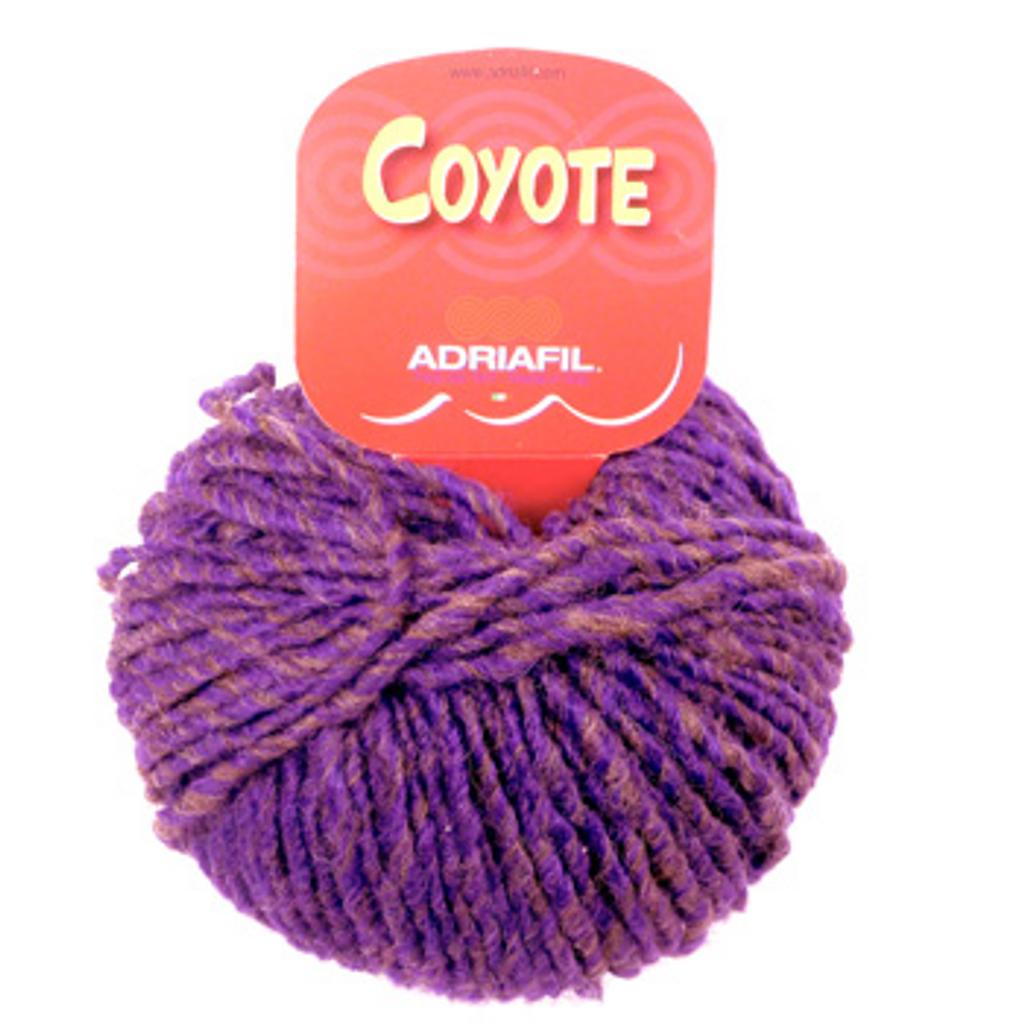 Adriafil Coyote Knitting Yarn - Shaded Violet 44
