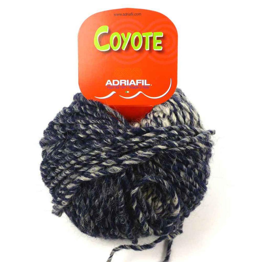Adriafil Coyote Knitting Yarn | Shaded Blue 41