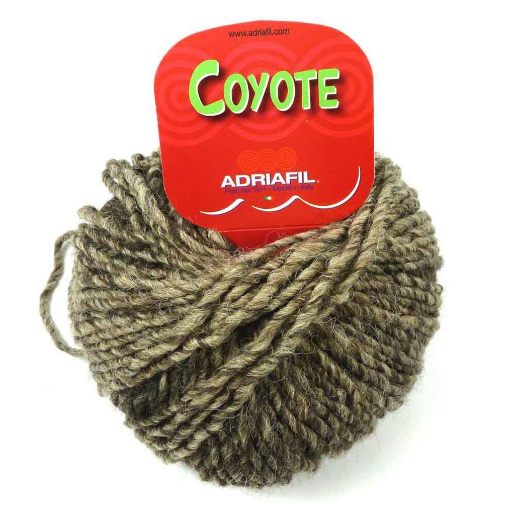 Adriafil Coyote Knitting Yarn - Shaded Beige 46