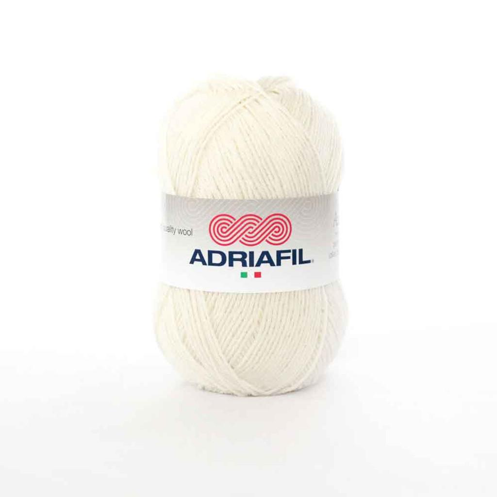 Adriafil Azzurra 3 Ply Knitting Yarn - 11 Cream