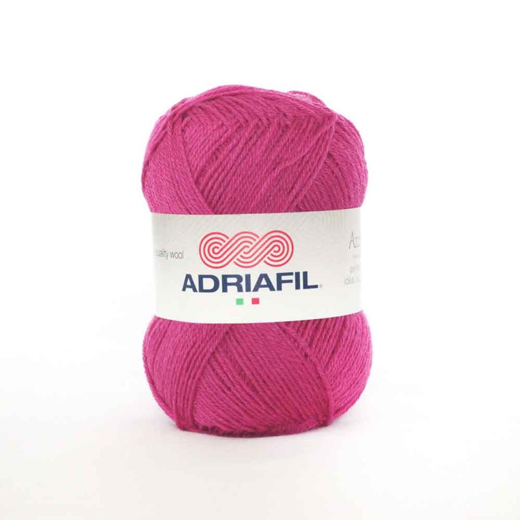 Adriafil Azzurra 3 Ply Knitting Yarn - 21 Nearly Magenta